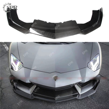 Carbon Front Lip For Aventador LP700 SPD Style Carbon Fiber Front Lip Body kits Tuning Trim Accessories For LAMBORGHINI LP700 цена