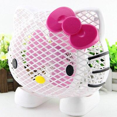 Superb Hellokitty Mini Desktop Small Fan Office Fan Student Dormitory Fan KT Cat  Children Mini Usb Fan In USB Gadgets From Computer U0026 Office On  Aliexpress.com ...
