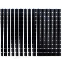 24v 200w Monocrystalline Solar Panel 10 Pcs Solar Home System 2000W 2KW Solar Charger Battery Caravan Car Camp LED Motorhome Rv