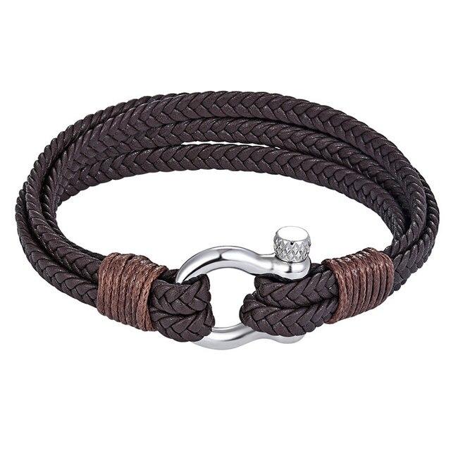 Vintage Cowhide Bracelet...