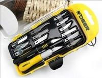 R Deer 14PCS Hobby Knife Carving Knife Set Graver Multifuction Hand Tool Set Carving Tolls Free