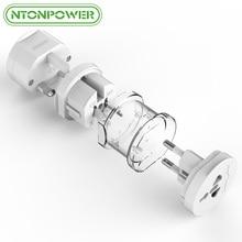 NTONPOWER UTA Elétrica Universal Plug Adaptador de Viagem Tomada Converter tomada Tudo em Um Uso Em Todo O Mundo para EUA/REINO UNIDO/UE/AU