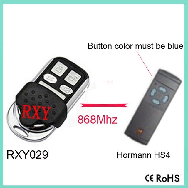 Duplicator Hormann Hs4 8683mhz Garage Door Remote Control In Remote