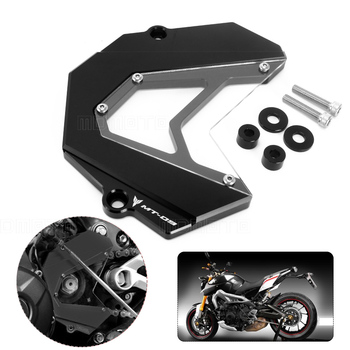 Motorcycle accessories CNC Engine Guard Front Sprocket Guard Chain Motos Cover For Yamaha MT09 FZ9 2013 2014 2015 2016 2017 front sprocket chain guard cover engine for honda crf250l m crf250l crf250m crf 250l m 2012 2013 2014 2015 engine chain guard