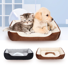 лучшая цена Warm Dog Beds/Houses Washable Soft pet Beds/Cusions Waterproof Pet Mats/Nests for Small/Medium/Large Dogs/Cats XXS/XS/S/M/L/XL