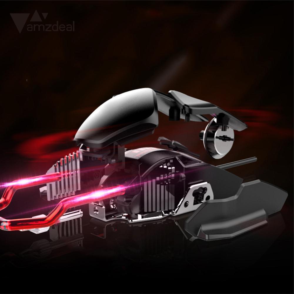 Souris optoélectronique refroidie à l'eau USB souris filaire souris optique jeu coloré ordinateur portable Durable