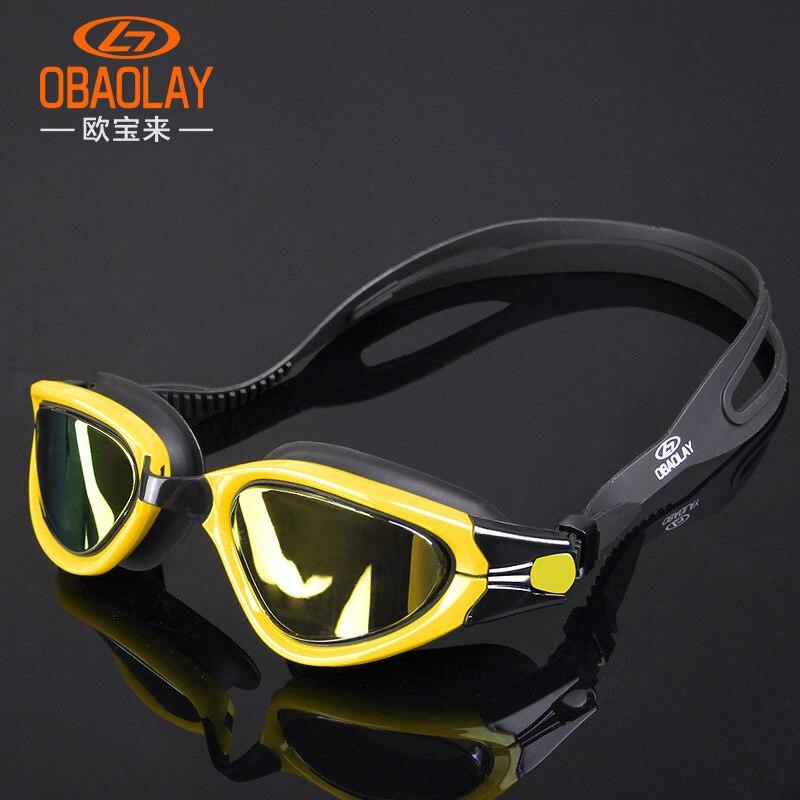 2018 г. Плавание ming очки Gafas Natacion Профессиональный Анти-туман Плавание ming очки мужской женский Плавание очки для взрослых маска