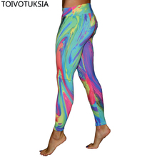 TOIVOTUKSIA Fashion Sexy Casual Highly Elastic and Colorful Fit Most Sizes Leggins Pants Trousers Womans Legings