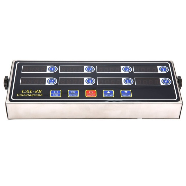 220V 50/60Hz CAL-8B Portable Calculagraph Digital Timer