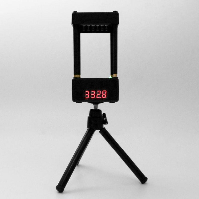 Muzzle Speed Meter Velocimetry Velocity Anemometer Valence Tester With Tripod