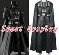 High Quality Star Wars Darth Vader costume adult jedi suit full set custom made Darth Vader Halloween Cosplay Costume