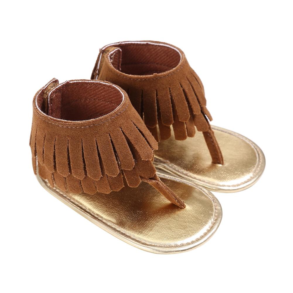 2017 sommer Neugeborenes Baby Sommer Quaste Krippe Schuhe Mädchen - Babyschuhe - Foto 3