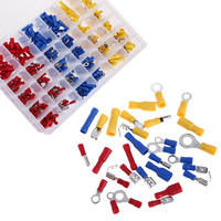 480Pcs Assorted Crimp Terminals Set Insulated Electrical Wire Connectors Spade Set FREE SHIPPING