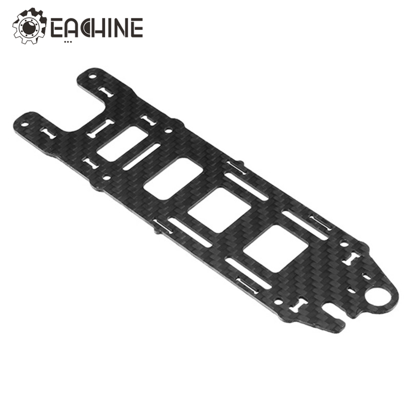 Original Eachine Wizard X220S FPV Racer Spare Part Upper Plate Top Plate 1.5mm Carbon Fiber for RC Racing Drone Accessories Accs 1sheet matte surface 3k 100% carbon fiber plate sheet 2mm thickness