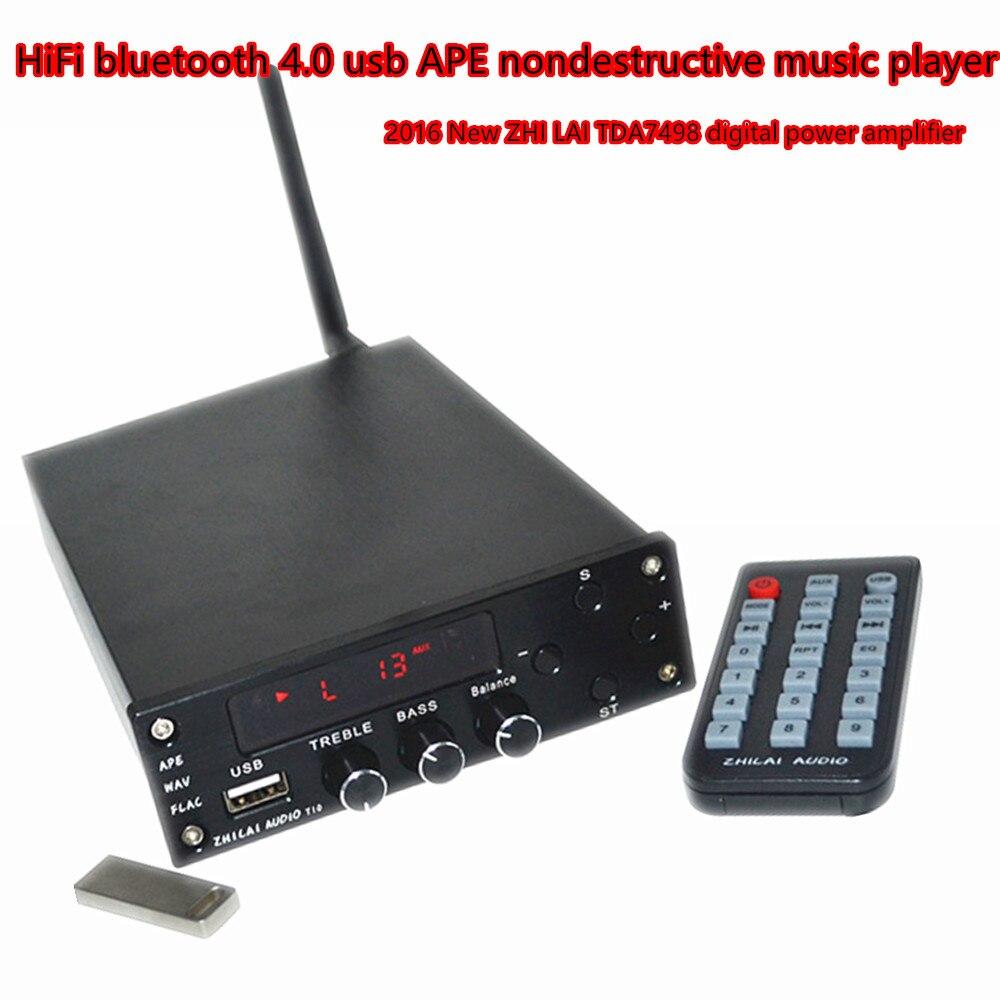 Reproductor de música MP3 USB Amplificador de Potencia Digital de ALTA FIDELIDAD