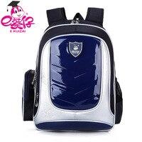 فتى/فتاة حقائب مدرسية جلد الاطفال الظهر العظمية للبنين/فتاة pu للماء حقيبة الطفل الاطفال حقيبة مدرسية q3