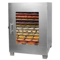 220V Multifunctional Electric Food Dryer 16 Layers Commercial Household Using Food dehydrator Vegetable Tea Fruit Dryer EU/AU/UK