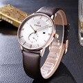 Men Watches Top Brand WWOOR Date Clock Male Waterproof Quartz Watch Men Silver Steel Mesh Strap Luxury Casual Sports Wrist Watch