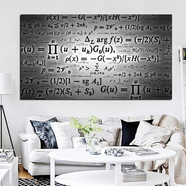 Print Science Albert Einstein Formule Mathématiques Numérique
