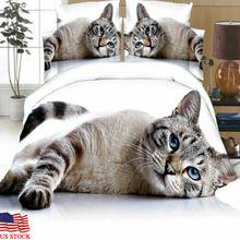 Набор постельных принадлежностей и наволочек с изображением животных