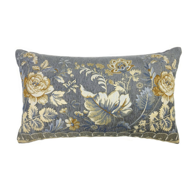 Flower Chenille Cushion Cover 30x50cm Mawgie