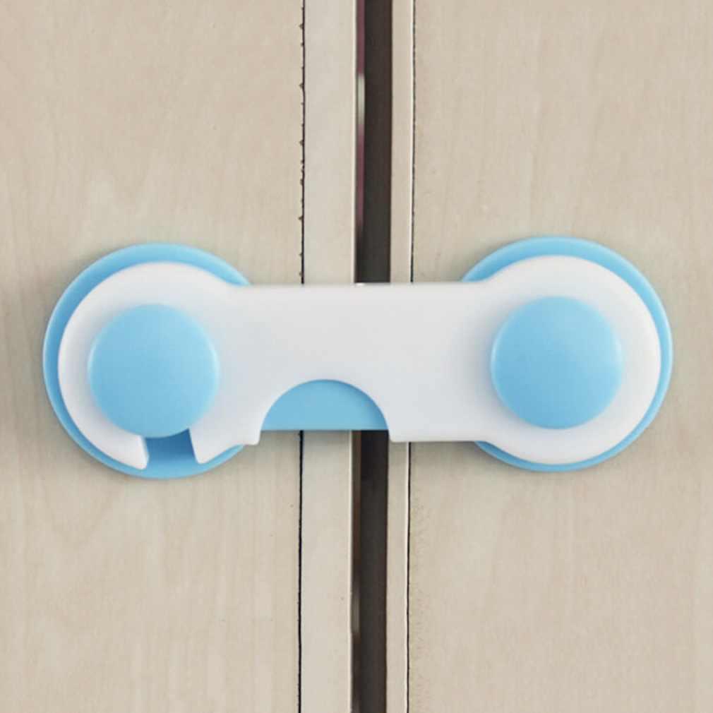 1pc เด็กทารกความปลอดภัยล็อคป้องกันเด็กจากเปิดตู้ประตูตู้ลิ้นชักตู้เย็นประตูตู้เสื้อผ้า