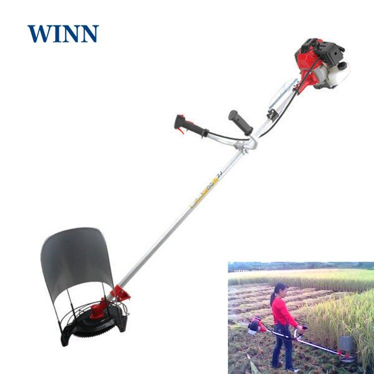 Gasoline Portable Harvester Wheat Rice Sugar Cane Harvesting Machine 4 Stroke Multipurpose Brush Cutter