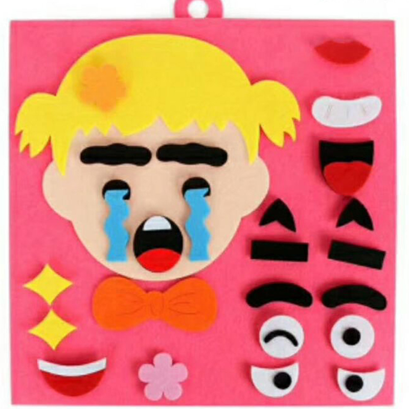 Puzzles & Games Eva2king Super Emotion Change Puzzle Toys Expression Changing Puzzle Best Gift For Children Changable Face Puzzles For Children Buy One Get One Free