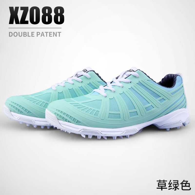Lady Double Patented High Shoes Outdoor Sports Golf Shoes Women Walking Waterproof Anti-Slip Light Running Sneakers Breathable