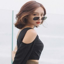 2019 New Fashion Lady small Square Sunglasses Women Small Glasses Gradient Sun For Female UV400