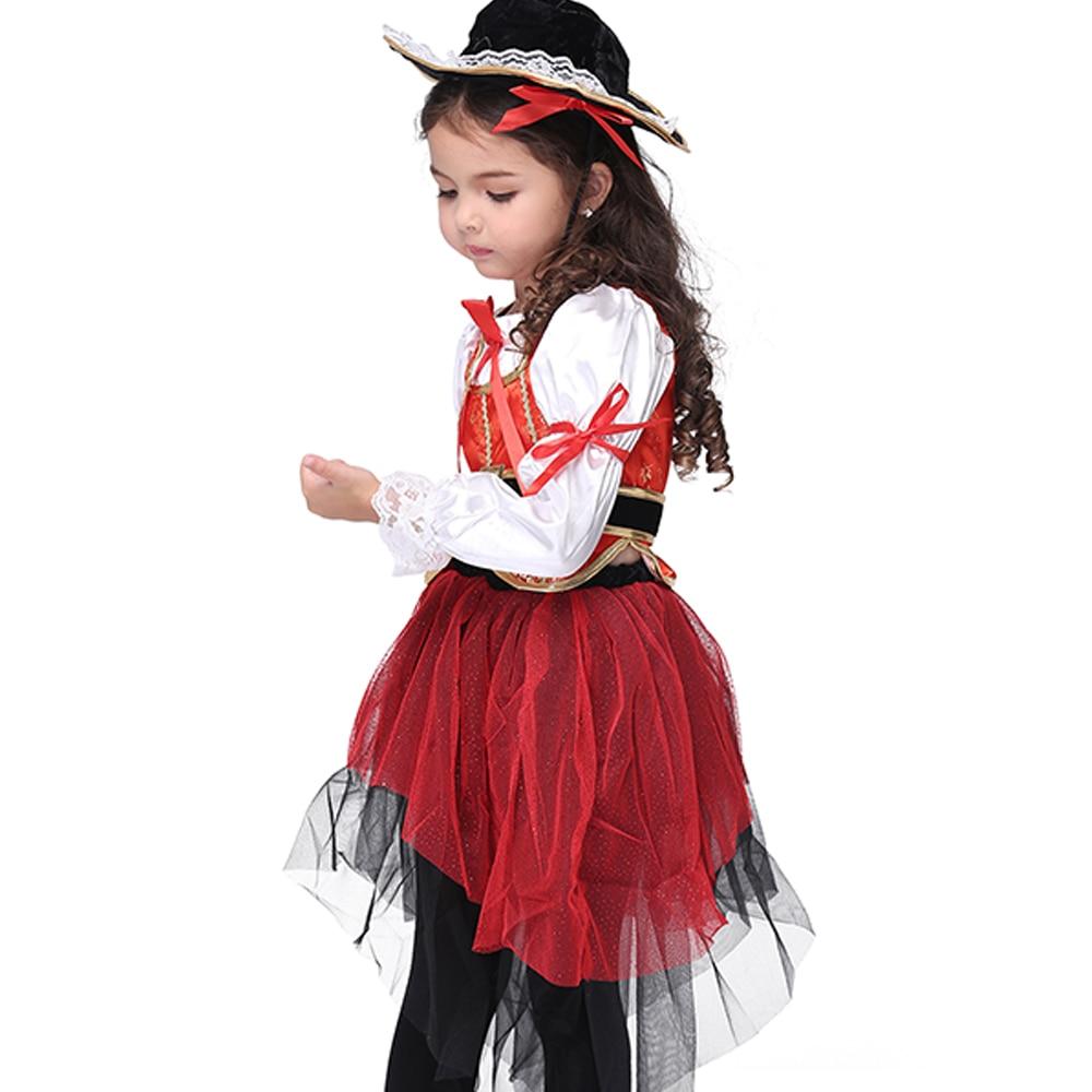 Aliexpress.com : Buy Pirate Costume Girls Clothing Halloween ...
