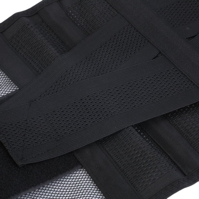 New Adjustable Men Waistband Belly Waist Shaper Belt Abdomen Tummy Trimmer Cincher Girdle Burn Fat Body Shaping Supports Braces 4