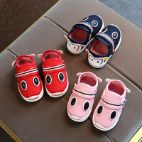 Autumn Wear Baby Girls Boys Toddler Shoes Breathable Mesh Fabric Infant Casual Shoes Cartoon Outdoor Children Kids Sneakers