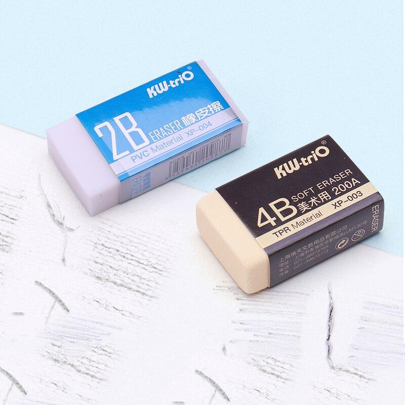 2B 4B Professional Eraser Artist Art Sketch Drawing Pencil Eraser School Pencil Rubber Eraser Art Painting Supplies