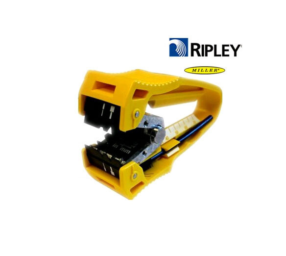 Original Miller abrazadera centro agujeros introdujo fórmula longitud de fibra óptica stripper FO-CF Miller stripper envío gratis