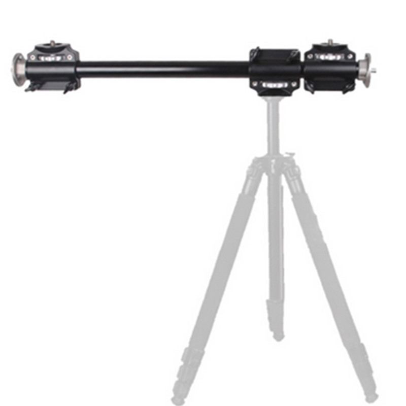 ASHANKS 60cm Tripod Cross Arm Mount Bracket Photography transverse support for DSLR Camera Computer action camera accessories