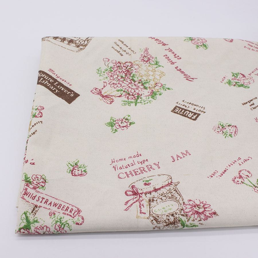 Polyester Cotton Printed Fabric Sewing Fabrics Home Textile ...