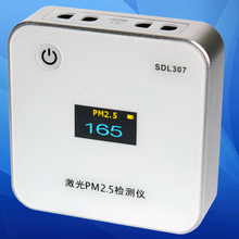 Monitor de calidad del Aire PM2.5 PM2.5 Láser monitor inovafitness analyseur herramienta de Diagnóstico analizador de gas detector de gas de gas detector de PM10