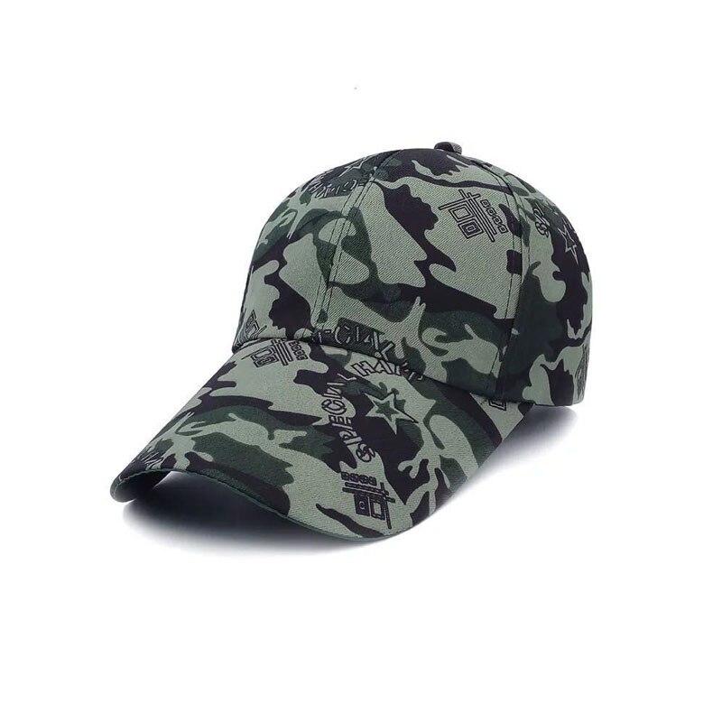 Охотничьи шапки Шапки для уличных видов спорта армейские мужские женские шапки специальные камуфляжные шапки бейсбольныей козырек шапки Распродажа - Цвет: Camo 3