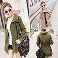 Spring and Autumn women trench coats New female coats Korean fashion slim wild thin women's trench coats