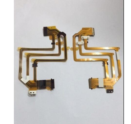2PCS/FP-412-11 NEW LCD Flex Cable For SONY HDR-HC3E HC3E HC3 Video Camera Repair Part
