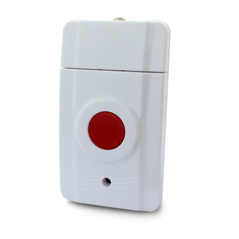Wireless Emergency Panic Button SOS Calling Button For Our Alarm System 433MHz One Key Alert wireless pager system 433 92mhz wireless restaurant table buzzer with monitor and watch receiver 3 display 42 call button