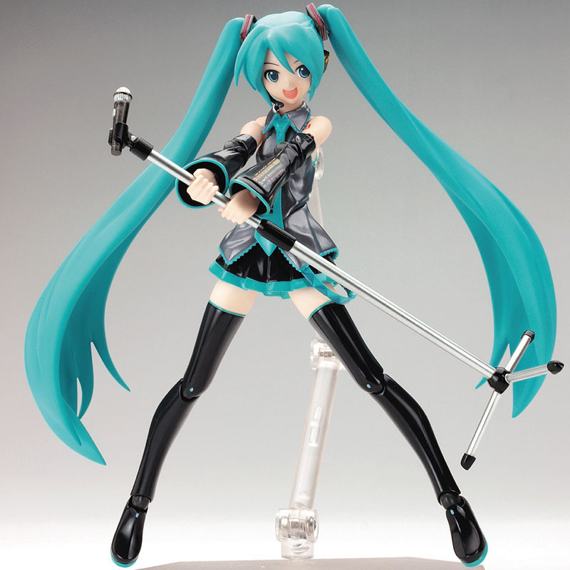 Anime Hatsune Miku PVC Action Figure Kids Toys Brinquedos Japan Anime Model Collection Gift 6 15cm brand new animals action figure toys mother wild horse 12cm length pvc figure model toy for gift collection kids school study