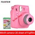 Бесплатная доставка картриджей fujifilm Instax Mini 9 + film20  новый комплект  автоматический таймер  пленка lomo для камеры Instax