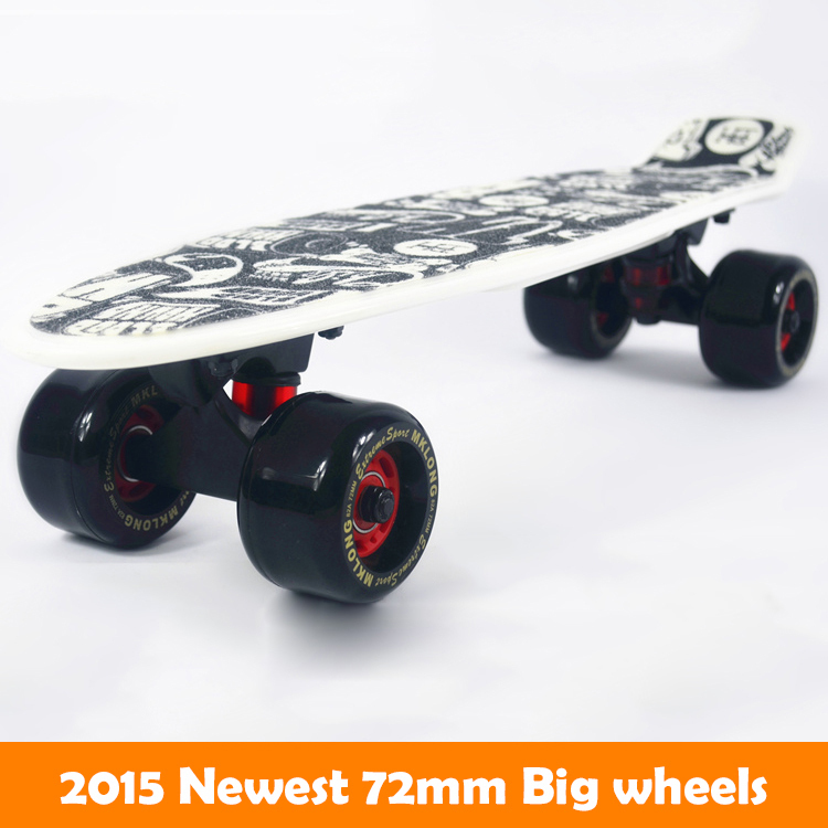 72 MM grandes roues Peny Board 22