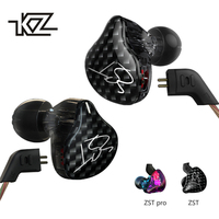 KZ ZST ZST Pro Dual Driver Earphone Dynamic And Armature Detachable Bluetooth Cable Monitors Noise Isolating