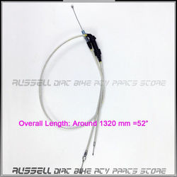 Throttle Twister Double Dual Cable Reinforced for PZ30 Power Jet Pump Visiable Carb