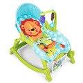 2016 bebé mecedora silla sentarse y acostarse multifunción plegable silla reclinable eléctrica apaciguar los juguetes cuna