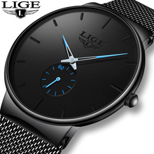 2019 LIGE Fashion Gift Mens Watches Top