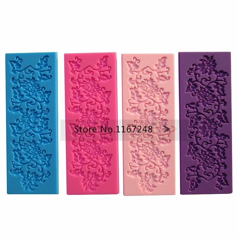16.5 cm * 6 cm de Silicona Moldes Pasteles Decoración de La Torta Del Molde De S